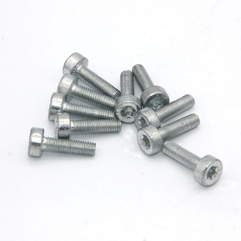 10PK Torx Spline Screw Bolt T27 M5X18 Fit for STIHL Chainsaw Weed Eater Strimmer 9022 340 1010