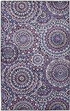 Mohawk Precision Printed Prismatic Florence Medallion Area Rug 5'x8', Purple