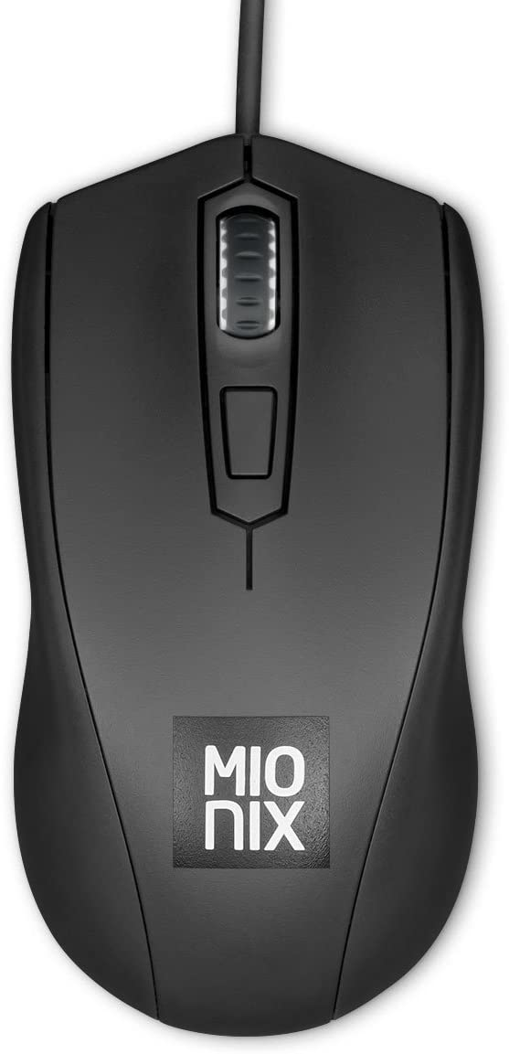 Mionix Avior Black Ambidextrous Optical Gaming Mouse (Black)