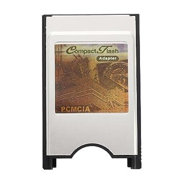SODIAL(R)PCMCIA Adaptador de lector de tarjetas CF Compact Flash para portatil