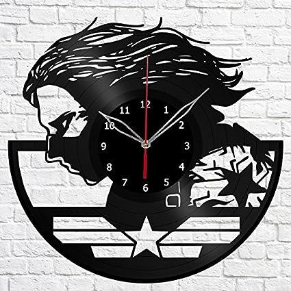 Amazon com: The Winter Soldier Captain America Vinyl Record Wall