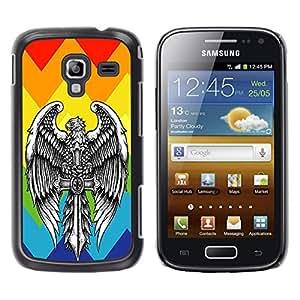 Dragon Case - FOR Samsung Galaxy Ace 2 - ?Forget what should be forgotten - Caja protectora de pl??stico duro de la cubierta Dise?¡Ào Slim Fit