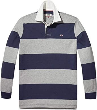 Tommy Jeans Polo Classics Rugby para Hombre XXL Azul: Amazon.es ...