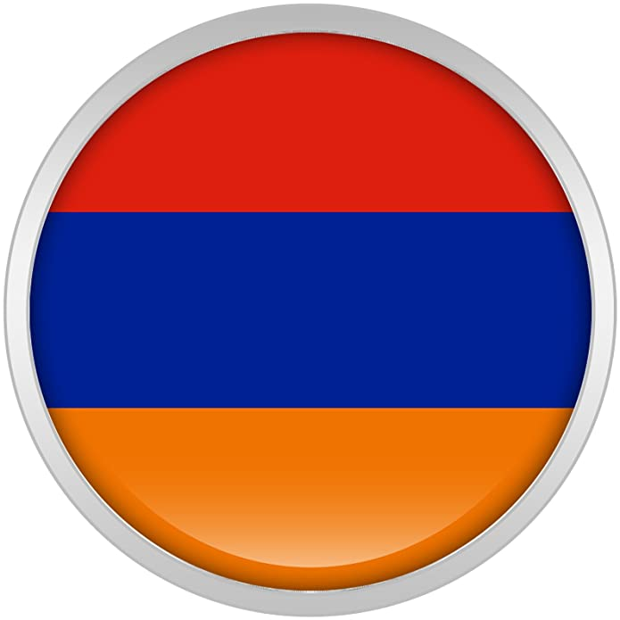Cuerpo Caramelo Acero Inoxidable Bandera del Armenia Dilatador Ajuste Rosca Par 18mm: Amazon.es: Joyería