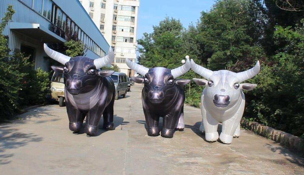 7333ea977 Amazon.com: Factory price inflatable bull costume,Cow life like costume:  Toys & Games