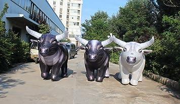 Precio de fábrica hinchable disfraz de toro, vaca vida como ...