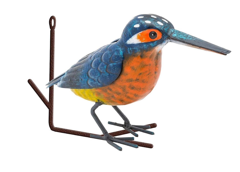 Fountasia D/écoration Murale en m/étal Motif Oiseau Martin-p/êcheur sur Branche