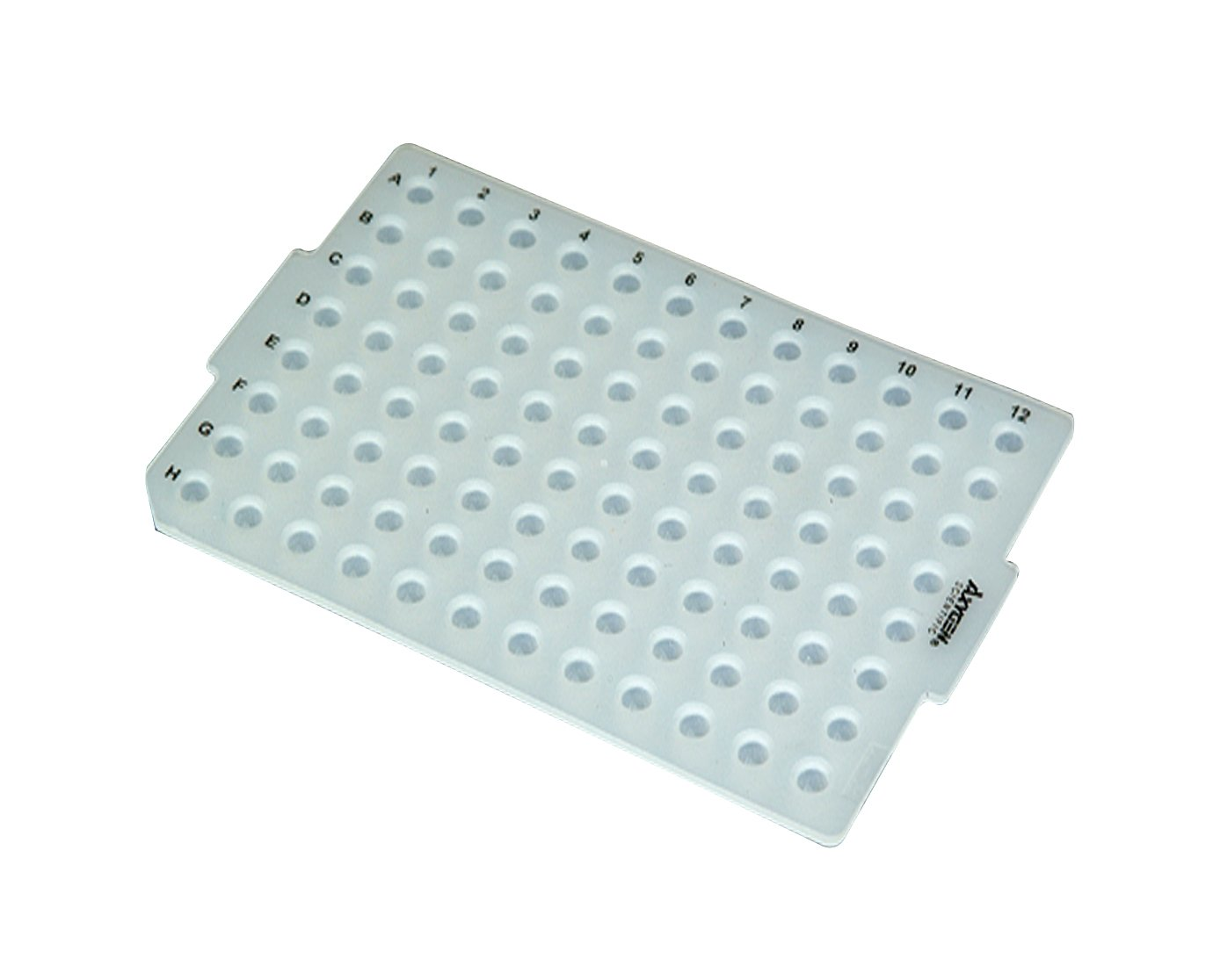 96-well PCR Plate Silicone Cap Silicone Sealing Mat for 96-well PCR plate Non-sterile(Pack of 10)