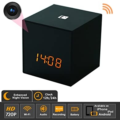 Titathink TT531WN-PRO HD Wi-Fi Covert Hidden Spy Clock Camera