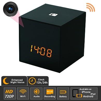 Titathink TT531WN-PRO HD Wi-Fi Covert Hidden Spy Clock Camera