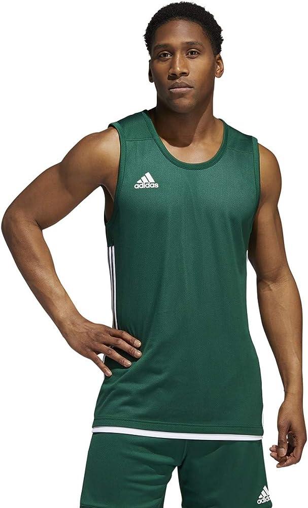 Redundante Betsy Trotwood Lo encontré  Amazon.com: adidas 3G Speed Reversible Jersey-Men's Basketball 4XLT Dark  Green/White: Clothing