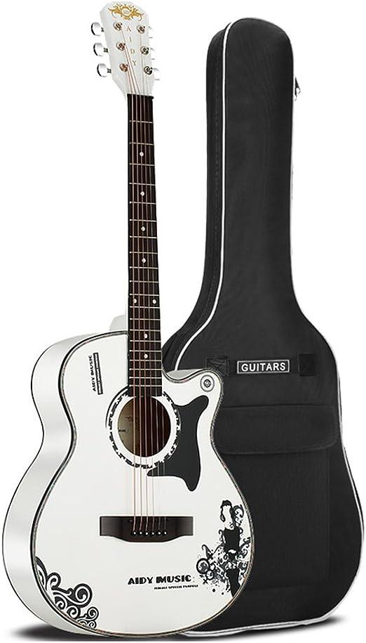 Guitarra de estudiante de personalidad guitarra acústica macho y ...