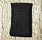 Merino Wool Scarf, Charcoal