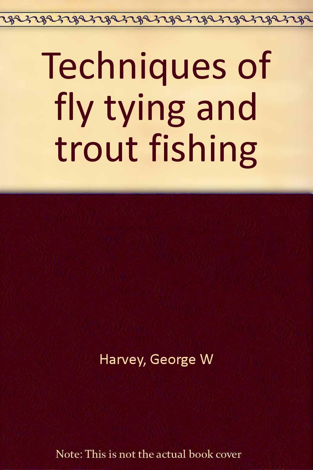 Techniques fly tying trout fishing product image