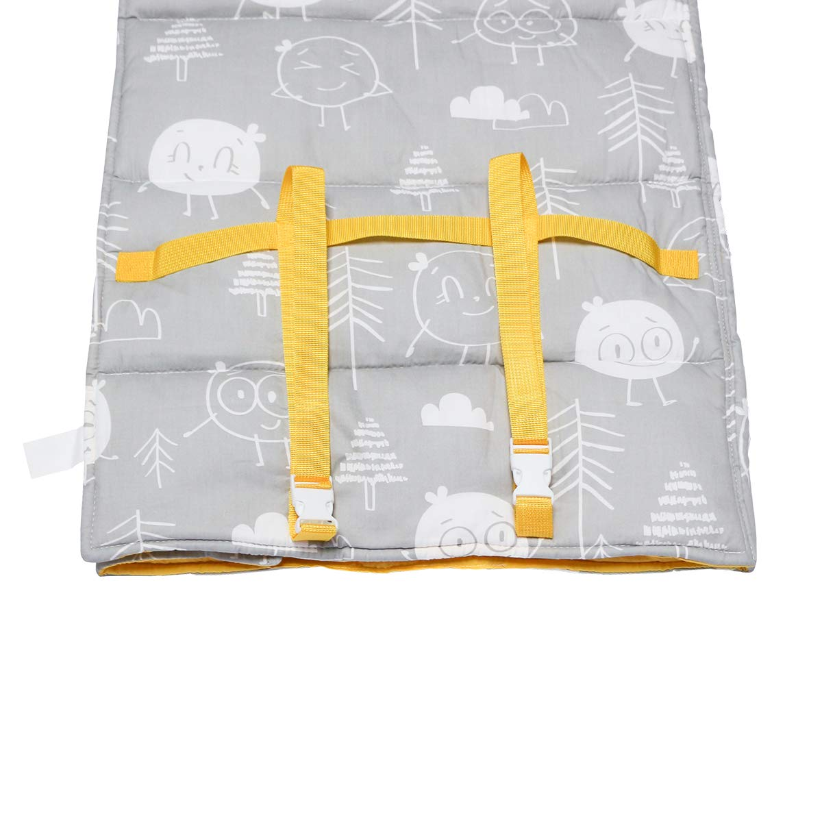 Butterfly Hi Sprout Kids Toddle Lightweight and Soft Nap Mat