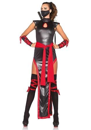 Leg Avenue Disfraz para Mujer Shadow Ninja - de 5 Piezas ...