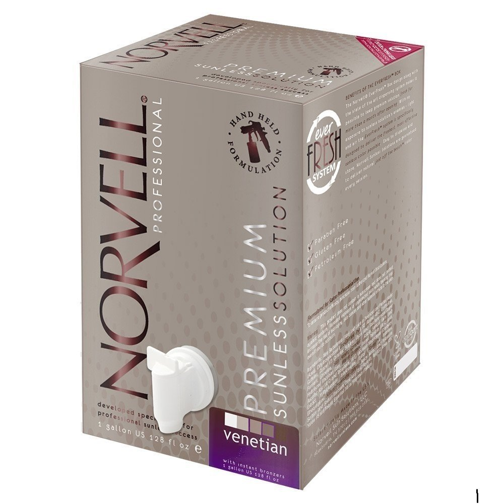Norvell Premium Sunless Tanning Solution - Venetian, Gallon/128 fl.oz.
