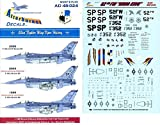 Afterburner Decals 1:48 52nd Fighter Wing Viper History for Tamiya #AD48-024