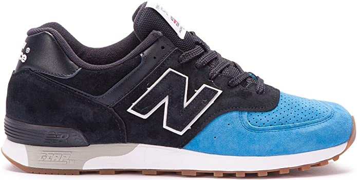 New Balance M 576 Sneakers Herren blau/schwarz