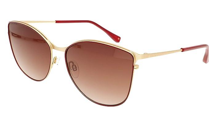 Ted Baker Hope Gafas de sol, Dorado (Matte Gold Burgundy ...
