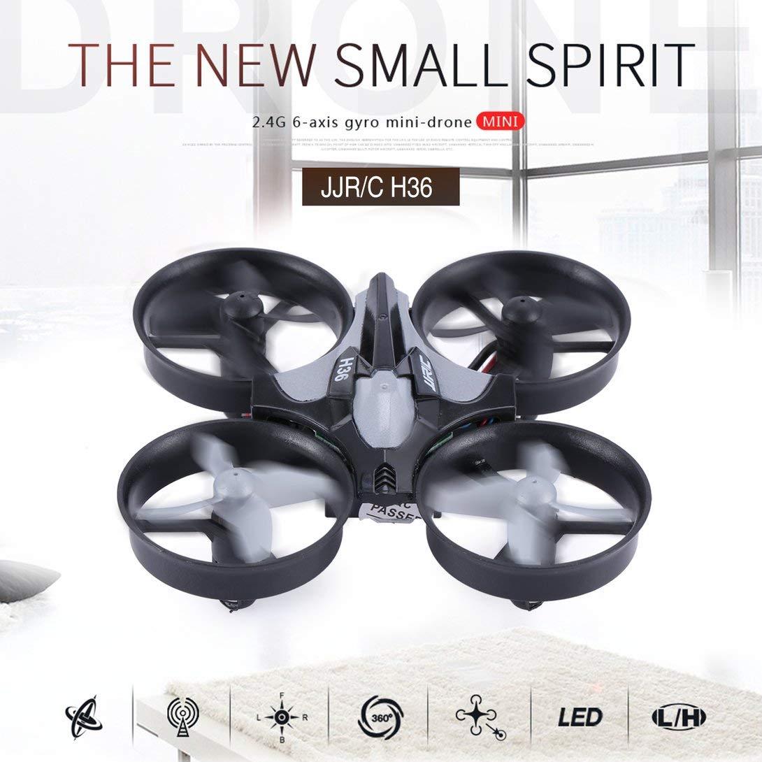 Swiftswan Mini Drone para Niños, JJRC H36 Mini Drone RC Quadcopter ...
