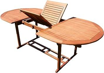 SA Table Extensible 150-200 x 100 cm Table en Bois Table de ...