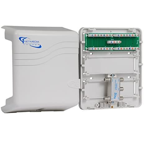 icc mini combo voice video structured wiring enclosure electrical rh amazon com icc structured wiring enclosure icc structured wiring enclosure