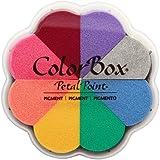CLEARSNAP 080000-08002 Colorbox Pigment Petal Point Option Pad, Enchantment, 8 Colors Per Pad