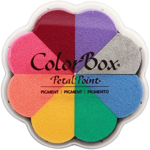 CLEARSNAP 080000-08002 Colorbox Pigment Petal Point Option Pad, Enchantment, 8 Colors Per ()