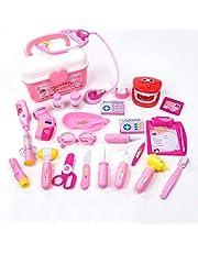 YGL Maletín de Doctor y Dentista Conjunto Doctor y Enfermería Clínica Dental Juego para Infantil,