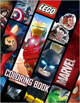 {{UPD{{ LEGO Marvel DC Coloring Book: Exclusive Activity Book For Comics Fans. Klassen CANIL Speech servicio Murat gestion