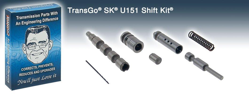 Transgo SK U151 Shift Kit U151E U250E U150E 02-17