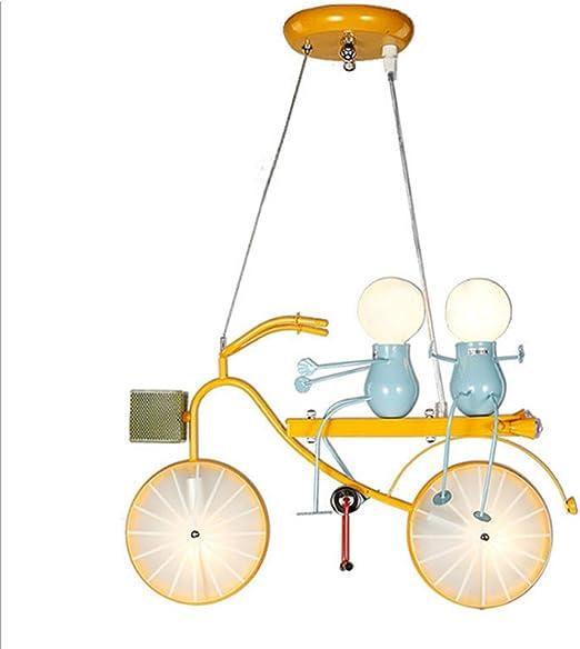 CANCIONES Lámpara de araña Bicicleta de hierro forjado Lámpara de ...