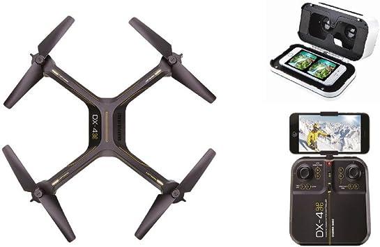 Sharper Image Drone DX-4 HD Video Streaming Drone con Realidad Virtual Smartphone Auriculares: Amazon.es: Electrónica