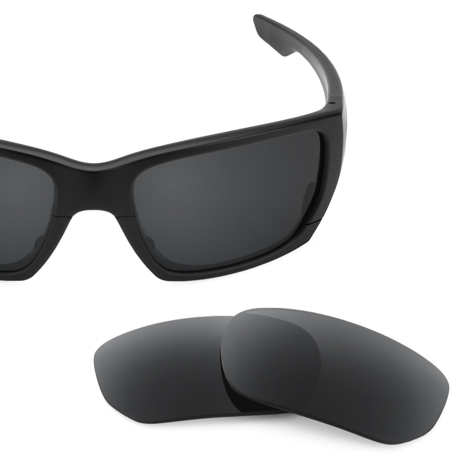 Revant Polarized Replacement Lenses for Oakley Style Switch Stealth Black