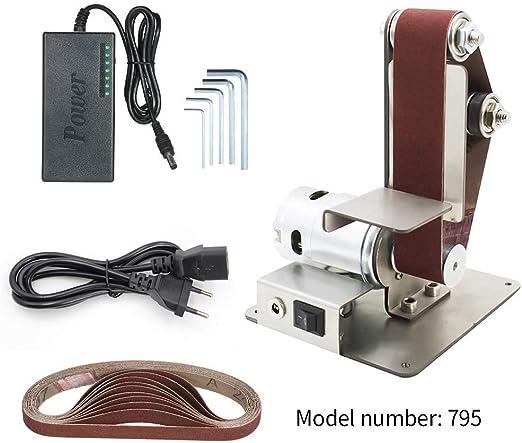 895 motor DIY Elektrische Mini Bandschleifer WinkelschäRfer Tisch Schneide 795