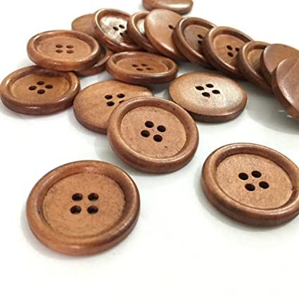 Tower Flowers Wooden Buttons Sewing Clothings Handmade DIY Scrapbooking 610