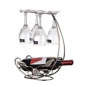 Estuche Para Secado De Vidrio De Vino Y Soporte Para Botellas Recipientes Para Almacenamiento De Vino