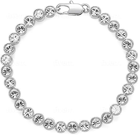 Bracelet Femme Orné de Cristaux de Swarovski Collection