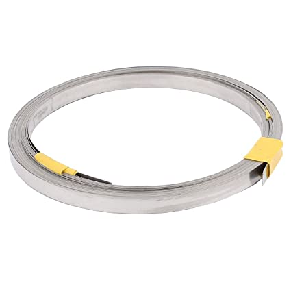 Heater Wire | Uxcell A16030100ux0542 7 5m 24 6ft 0 2x3mm Nichrome Flat Heater Wire