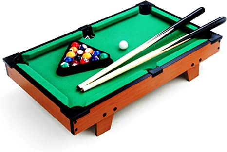 WXS Tablas De Madera, Mini Piscina Table Top Billar Snooker ...