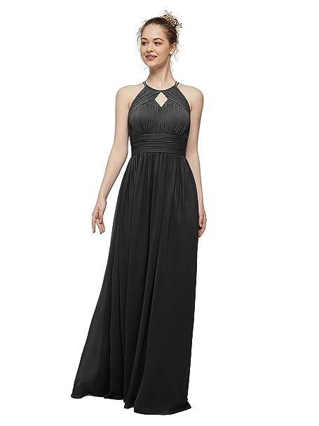 986c93cea883a AW Maxi Bridesmaid Dresses Chiffon Long Prom Dresses Plus Size ...