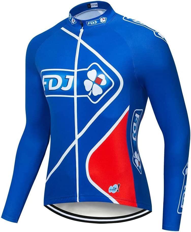 STEPANZU Ropa MTB Hombre Maillot Ciclismo Mangas Largas Ropa ...