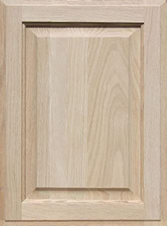 Interior Unfinished Oak Cabinet Doors unfinished oak cabinet door square with raised panel by kendor 19h x 14w