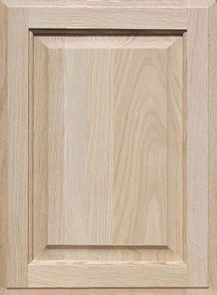 Unfinished Oak Cabinet Door, Square with Raised Panel by Kendor ...