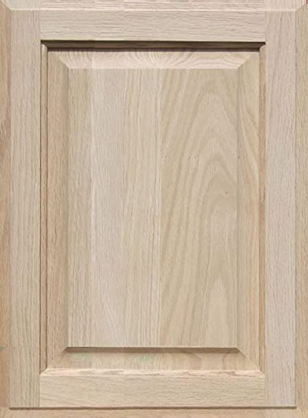 Unfinished Oak Cabinet Door Square With Raised Panel By Kendor 19h