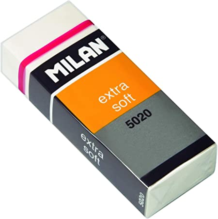 Milan CPM5020 - Pack de 20 gomas de borrar: Amazon.es: Hogar