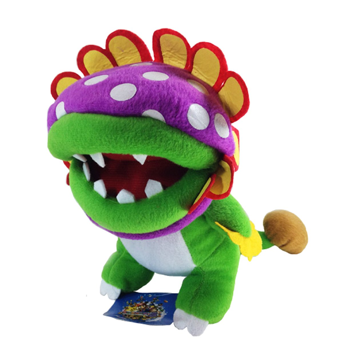 Amazon.com: Generic Dino Piranha Super Mario Bros Plush Soft Toy Stuffed Animal Boss Flower Figure Doll 8