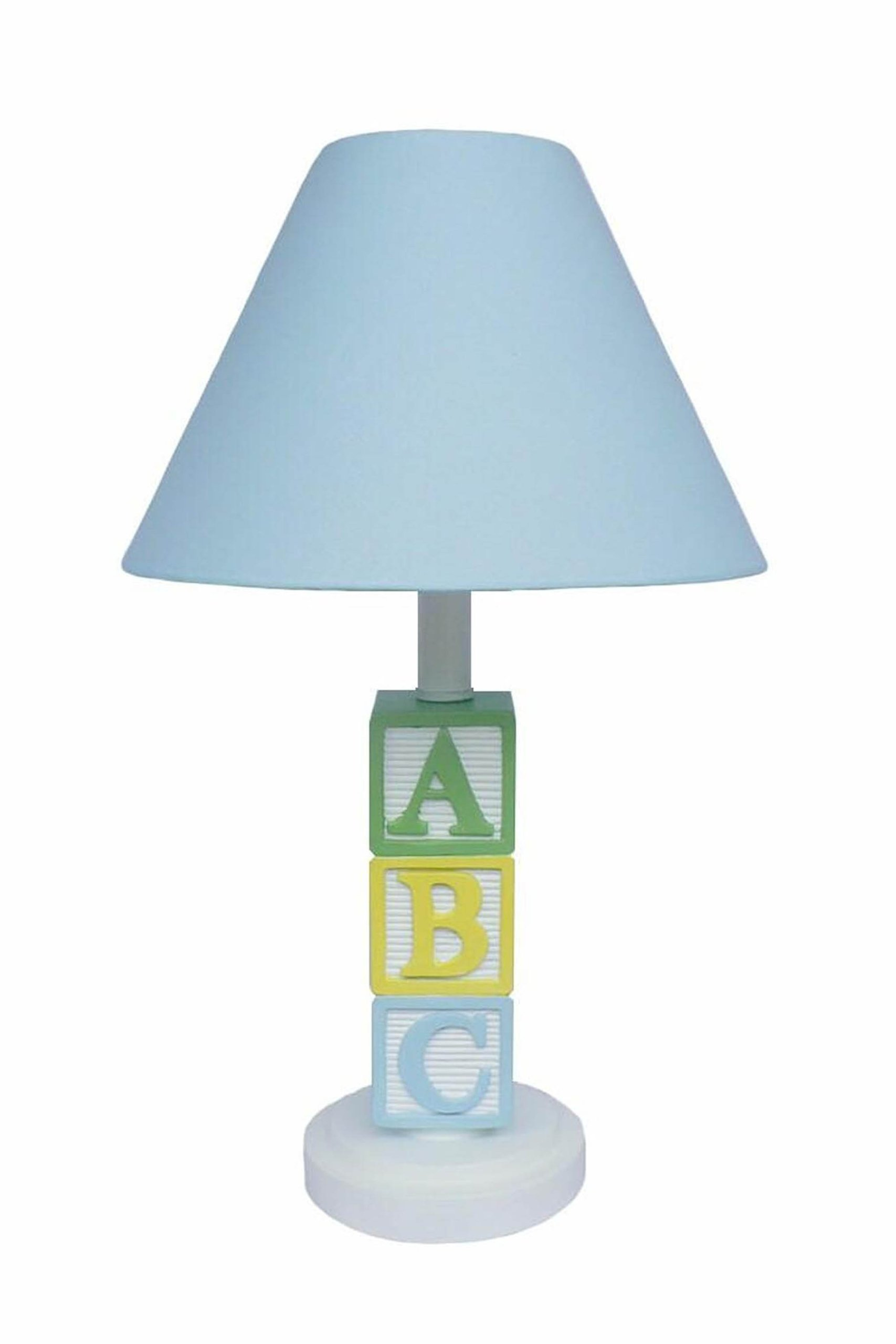 Creative Motion ABC Character Lamp, Blue Shade