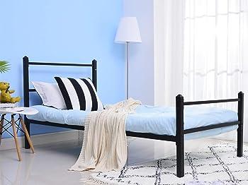 GreenForest Bed Frame Twin Size Metal Platform Bed